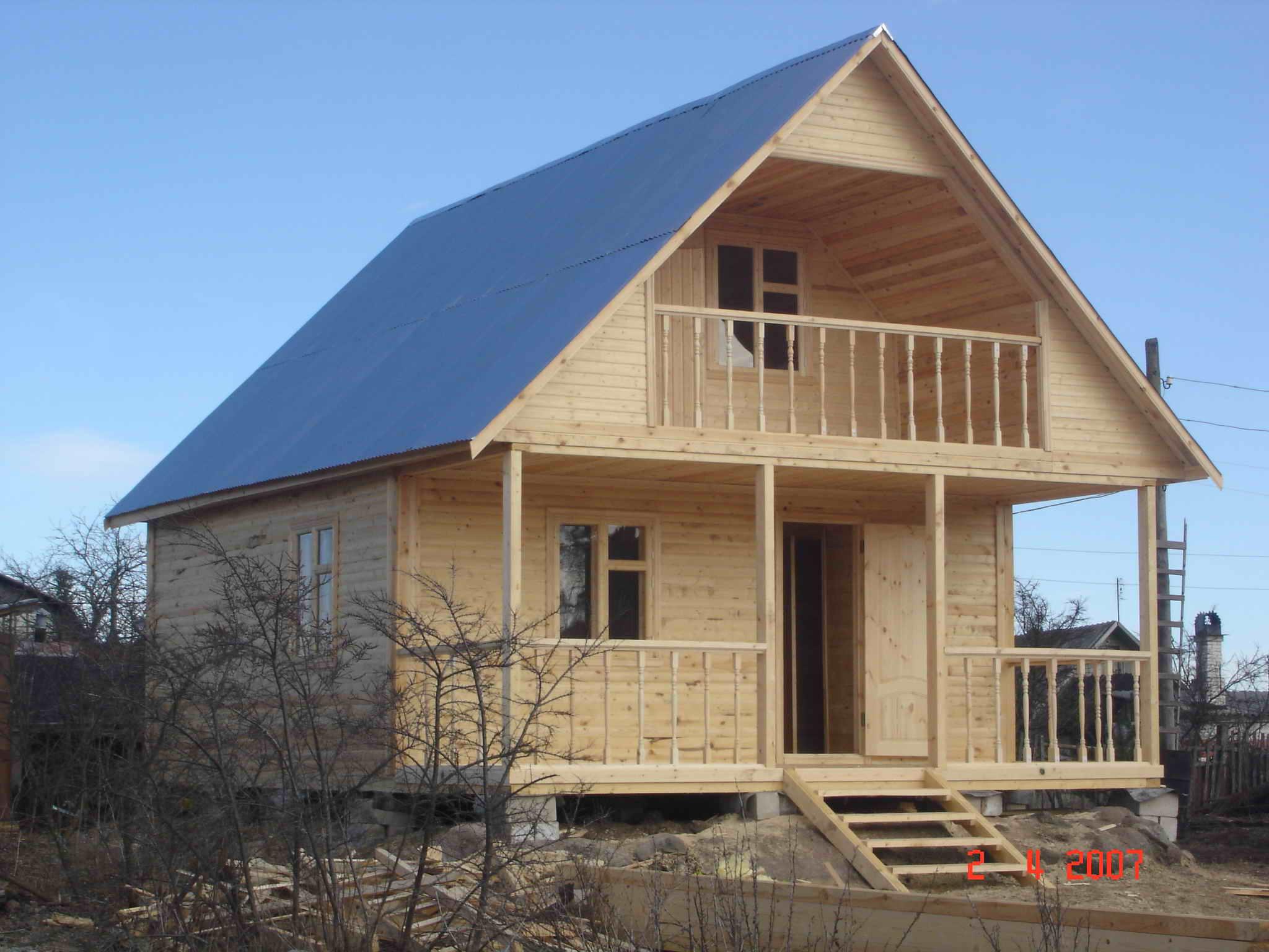 Деревянный дом из бруса 6х6: проекты, фотографии, характерис.